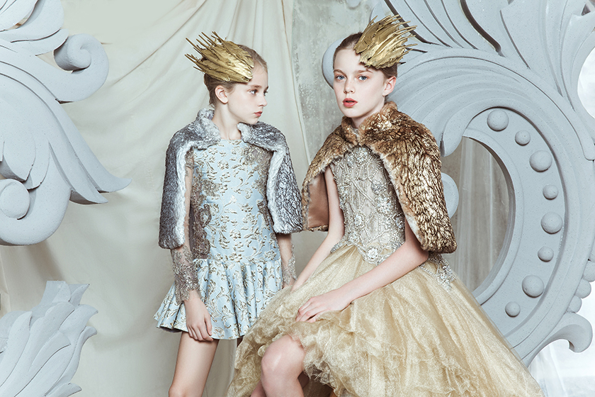 Mischka Aoki Luxury Couture House For Kids